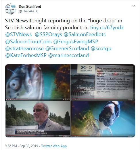 2019 Fish farm survey STV News 30 Sept Tweet