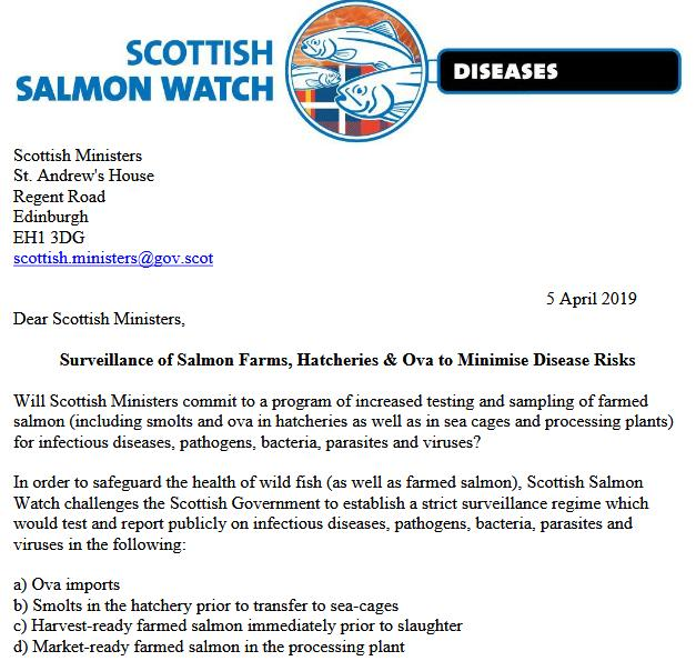 Letter to Scot Min April 2019