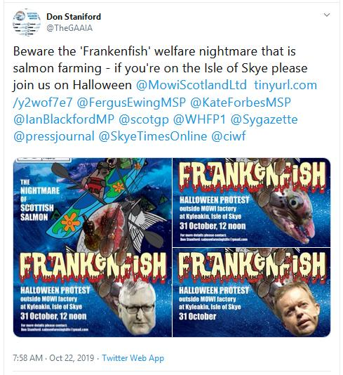 Frankenfish poster Tweet
