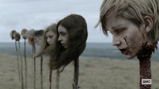 Walking Dead heads