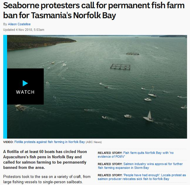 Swim against fish farm #6