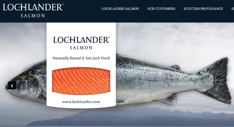Lochlander marketing page