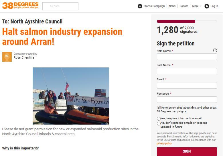 Arran petition
