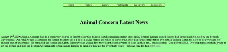 HSE Animal Concern Aug 2019 #1