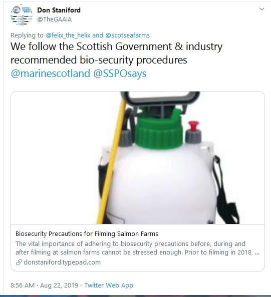 Biosecurity Tweet Aug 2019