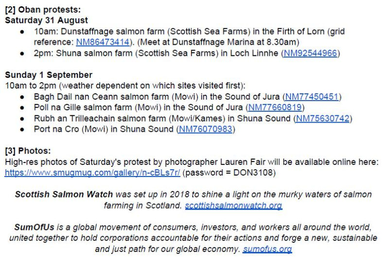 PR Testing Times for Scottish Salmon 30 August 2019 #4