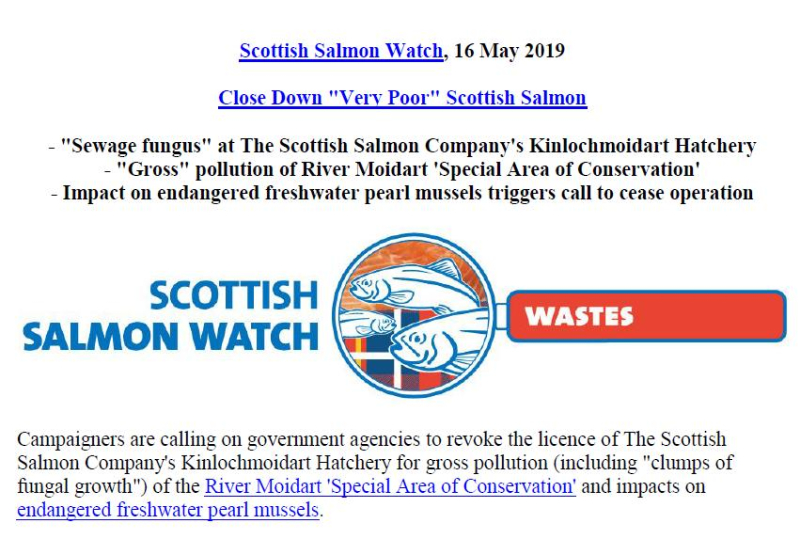 PR Very Poor Kinlochmoidart Hatchery 16 May 2019 #1