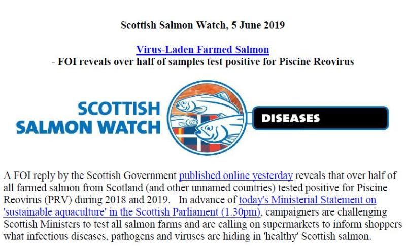 PR Virus Laden Scottish Salmon 5 June 2019 #1