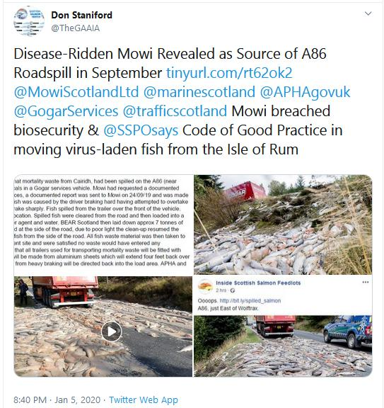 PR The Case Against Scottish Salmon 6 Jan 2020 #4