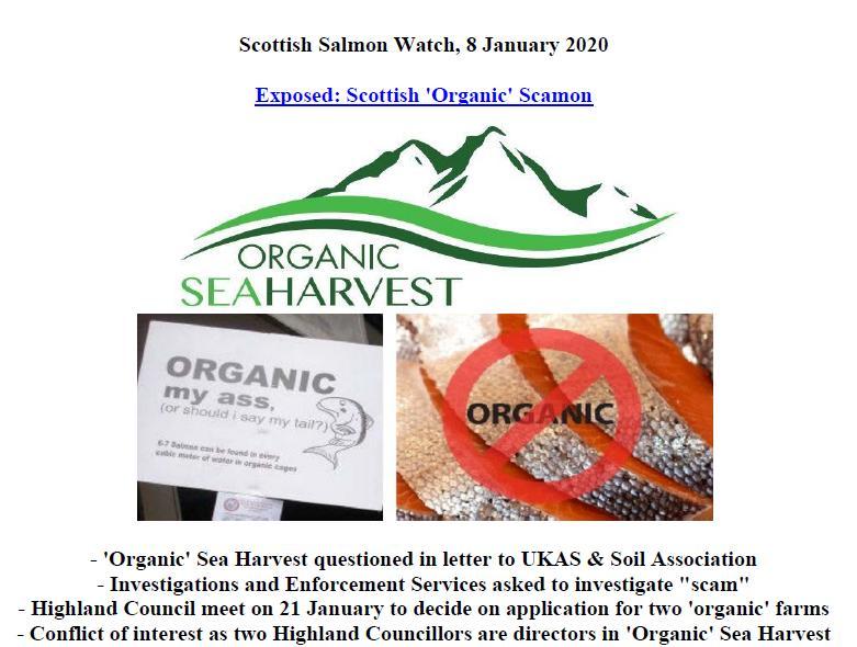 PR Organic Scamon 8 Jan 2020 #1