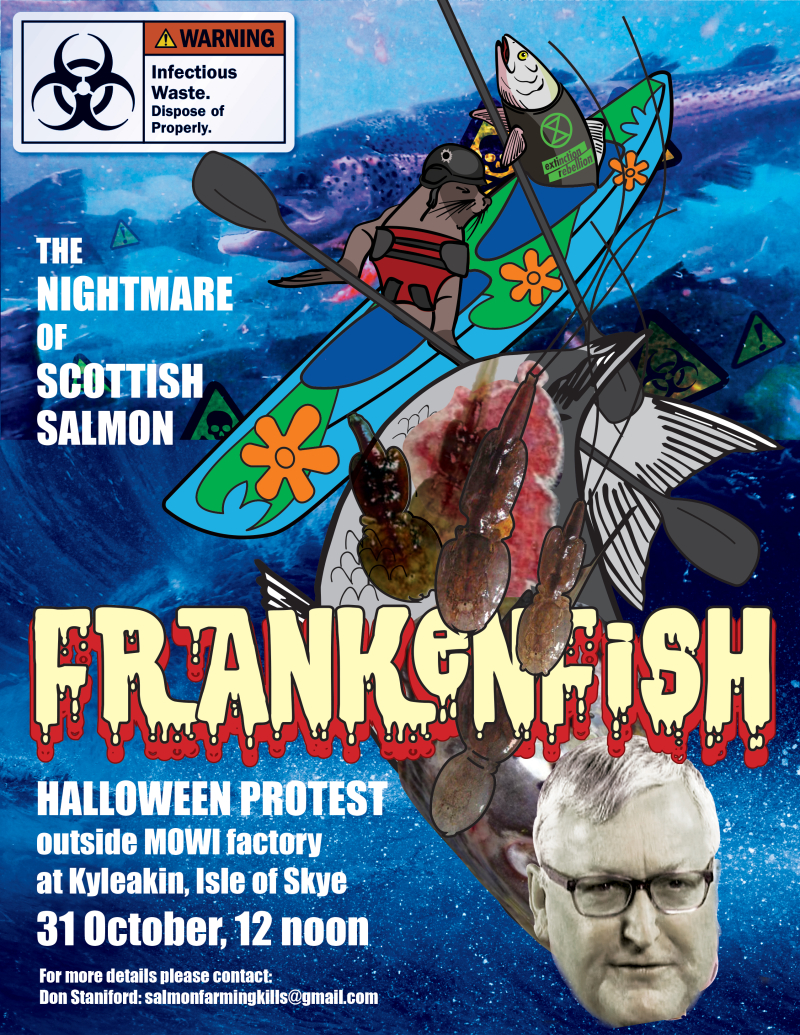 Frankenfish poster #3 Fergus head
