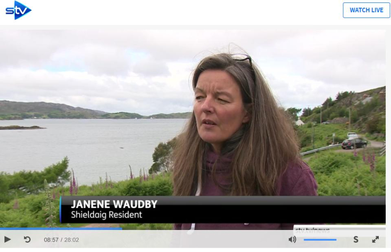 STV News 19 June 2019 TV version #13 Janene Waudby