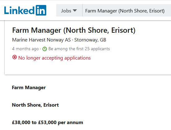 North Shore job advert