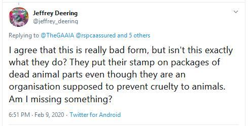 RSCPA Tweet #19 Jeffrey Deering