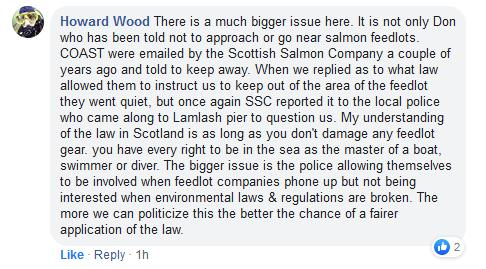Police Scotland Howard Facebook post 15 July 2019