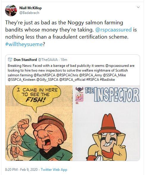 RSCPA Tweet #22 Niall McKillop