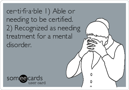 Certifiable
