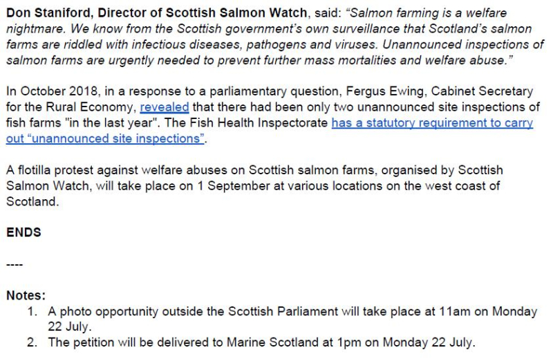 PR Salmon farm emergency investigations 18 July 2019 #2