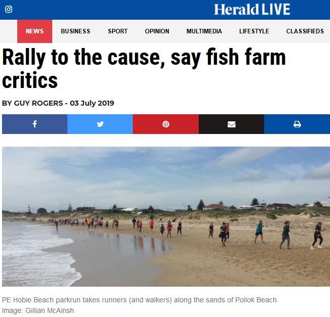 Swim against fish farm #2