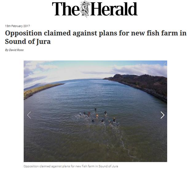Swim against fish farm #4