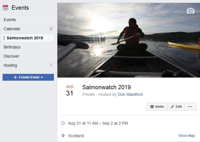 Facebook event 31 Aug to 2 September 2019