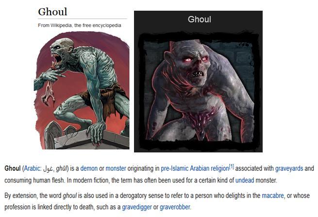 Ghoul blog #1