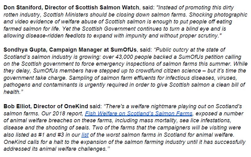 PR Testing Times for Scottish Salmon 30 August 2019 #2