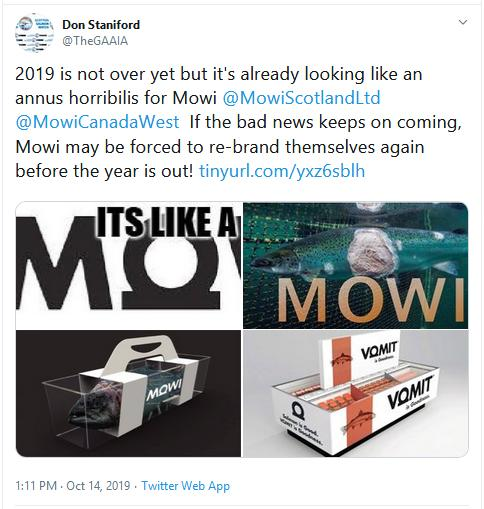 Bad Mowi blog #6 Tweet