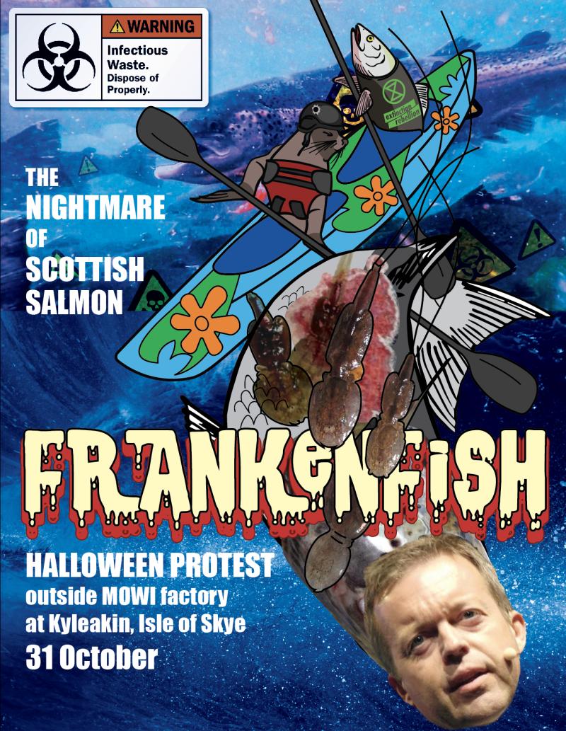 Frankenfish poster #1 Alf Helge Aarskog head