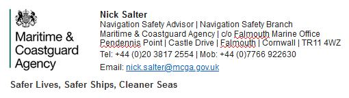 MCA FOI reply 26 March 2020 signature Nick Salter