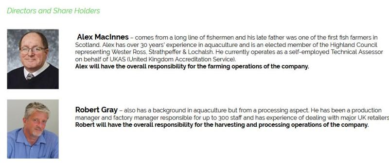 Organic Sea Harvest directors #1