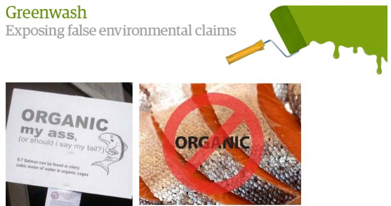 Organic my arse