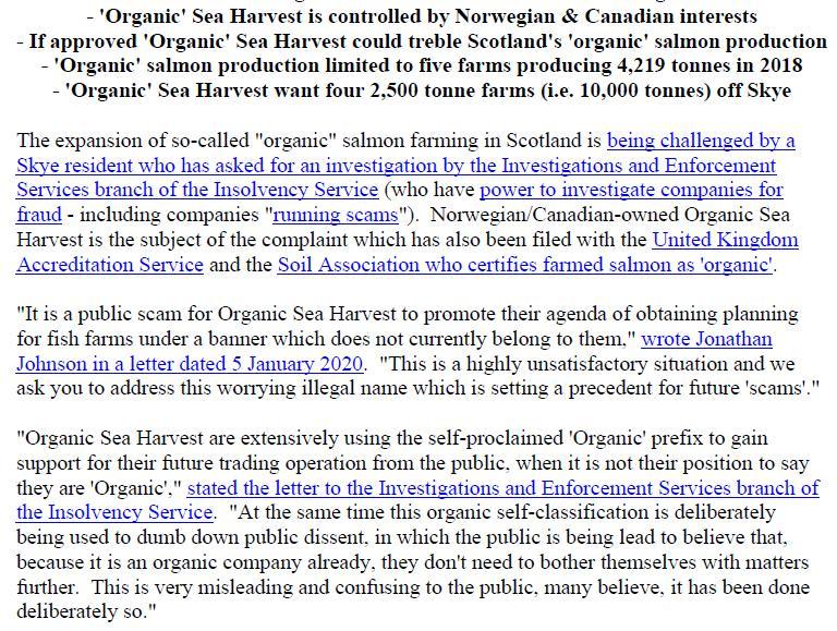 PR Organic Scamon 8 Jan 2020 #2