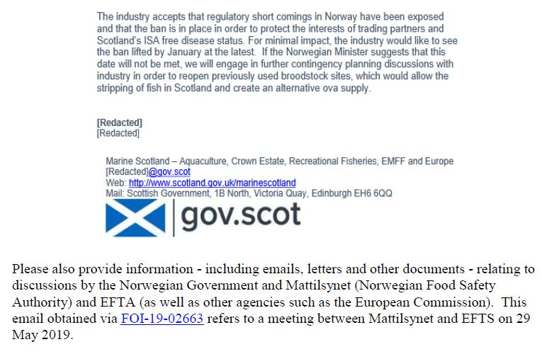 FOI letter to Norwegian Government & Mattilsynet 25 Feb 2020 #10