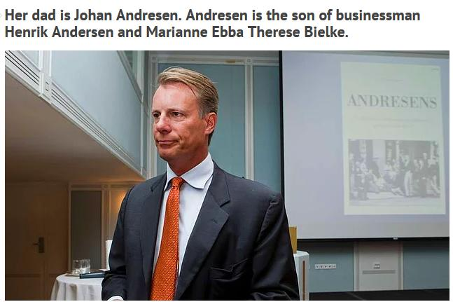 Johan Andresen son of Henrik