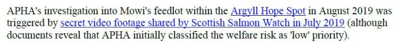 PR Censored Welfare Abuse on Salmon Farms 23 April 2020 #3