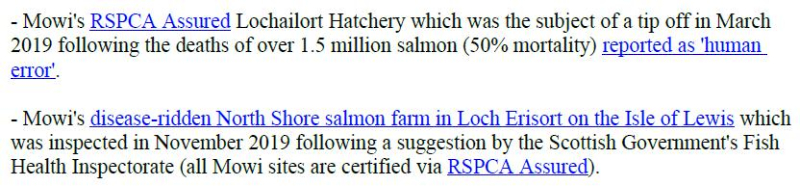 PR Censored Welfare Abuse on Salmon Farms 23 April 2020 #7