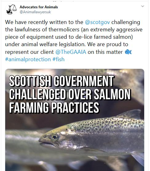 Advocates for Animals Tweet 11 March 2020 #1