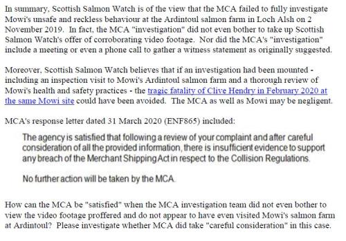 M&CA Complaint re Ardintoul 1 May 2020 #2