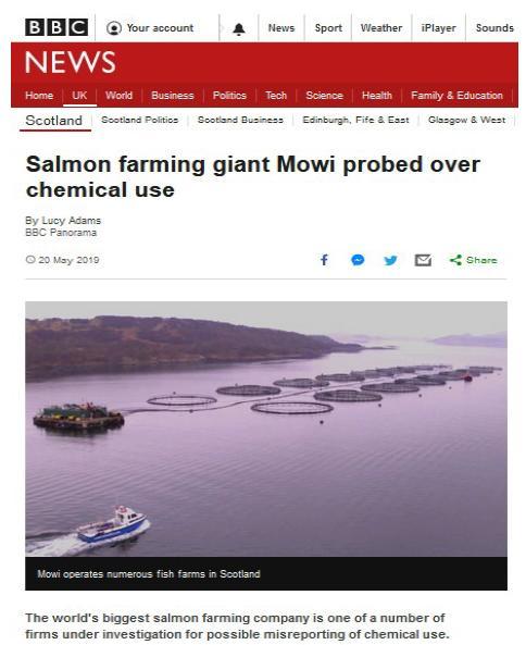 PR Imidacloprid trial in Loch Ailort by Mowi 20 May 2020 #14