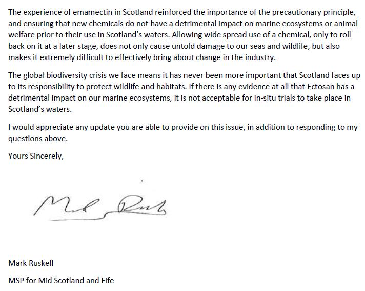 Ruskell letter re Imidacloprid to Scottish Ministers 20 May 2020 #3