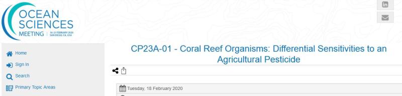 Imidacloprid Hakai May 2020 Ocean Sciences paper #1