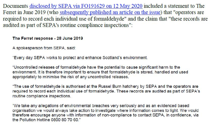 PR Cancer-causing chemical flooding Scottish lochs 24 May 2020 #14