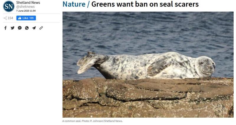 Shetland News 7 June 2020 ADD ban Greens #1