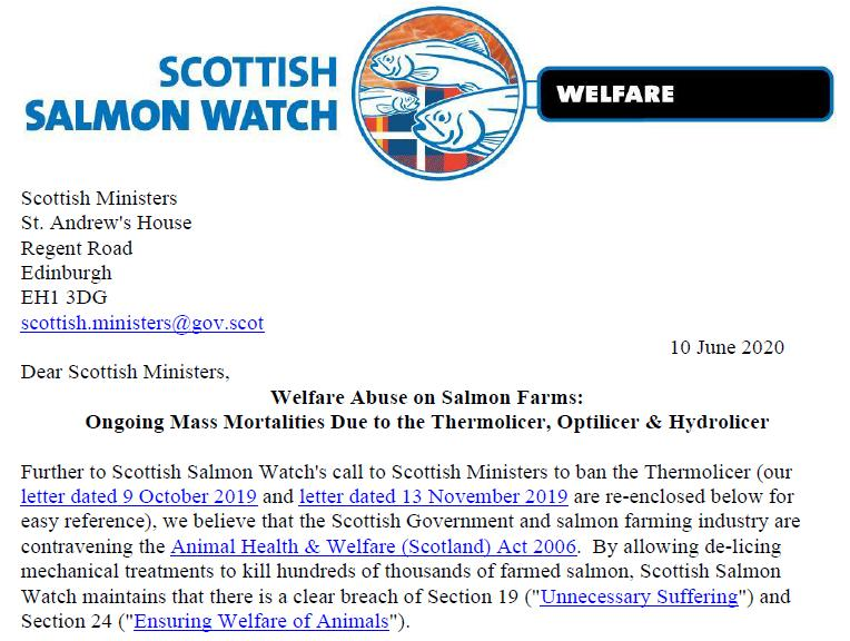 Letter to Scottish Ministers re deaths due to de-licers 10 June 2020 #1