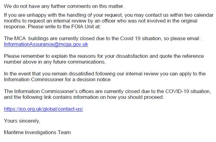 M&CA FOI reply re Mowi death in Loch Alsh 18 June 2020 #4