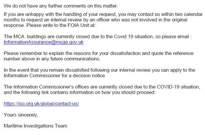 M&CA FOI reply re Mowi death in Loch Alsh 18 June 2020 #4