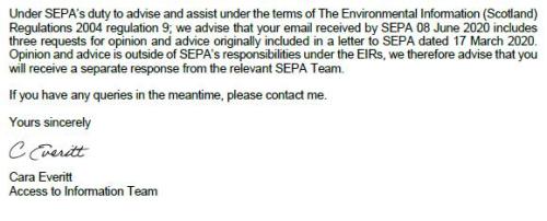SEPA FOI letter 26 June 2020 #6