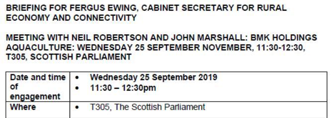 John Marshall bio #2 SP meeting with Fergus Sept 2018
