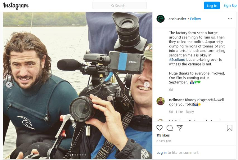 Instagram Matt on Loch Creran July 2020 #2